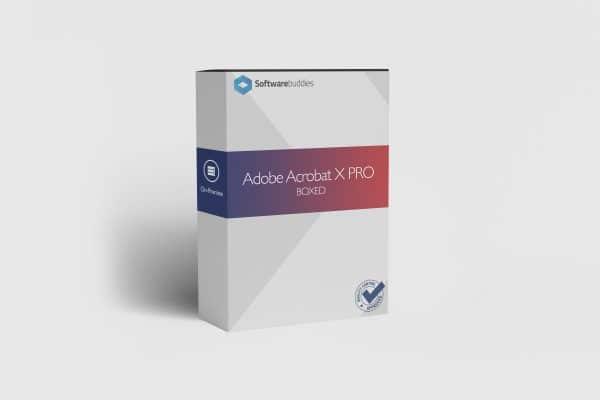 Adobe Acrobat X Pro Boxed
