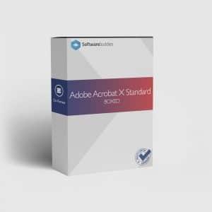 Adobe Acrobat X Standard Boxed