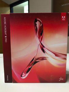 Adobe Acrobat 10 Pro Boxed