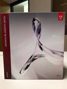 Adobe Acrobat 10 Standard Boxed