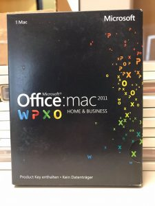 Microsoft Home and Business 2011 MAC